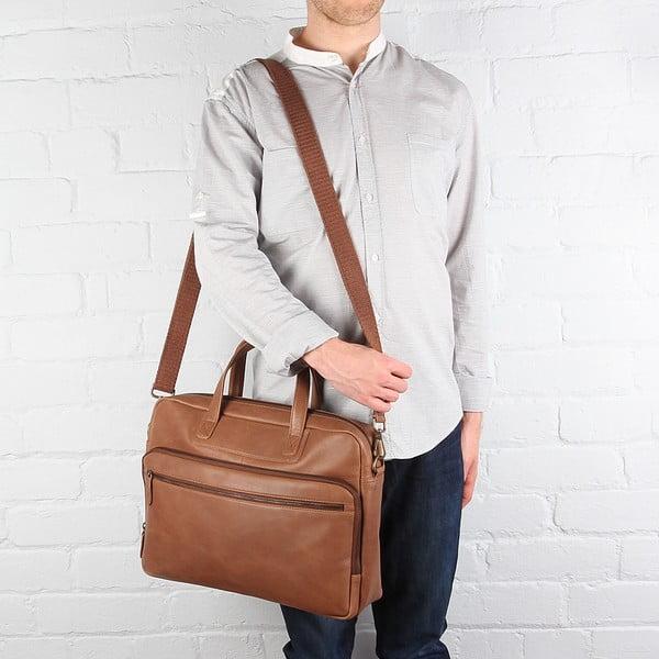 Skórzana torba Stockbridge Chestnut