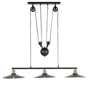 Lampa wisząca InArt Triyoda, czarna