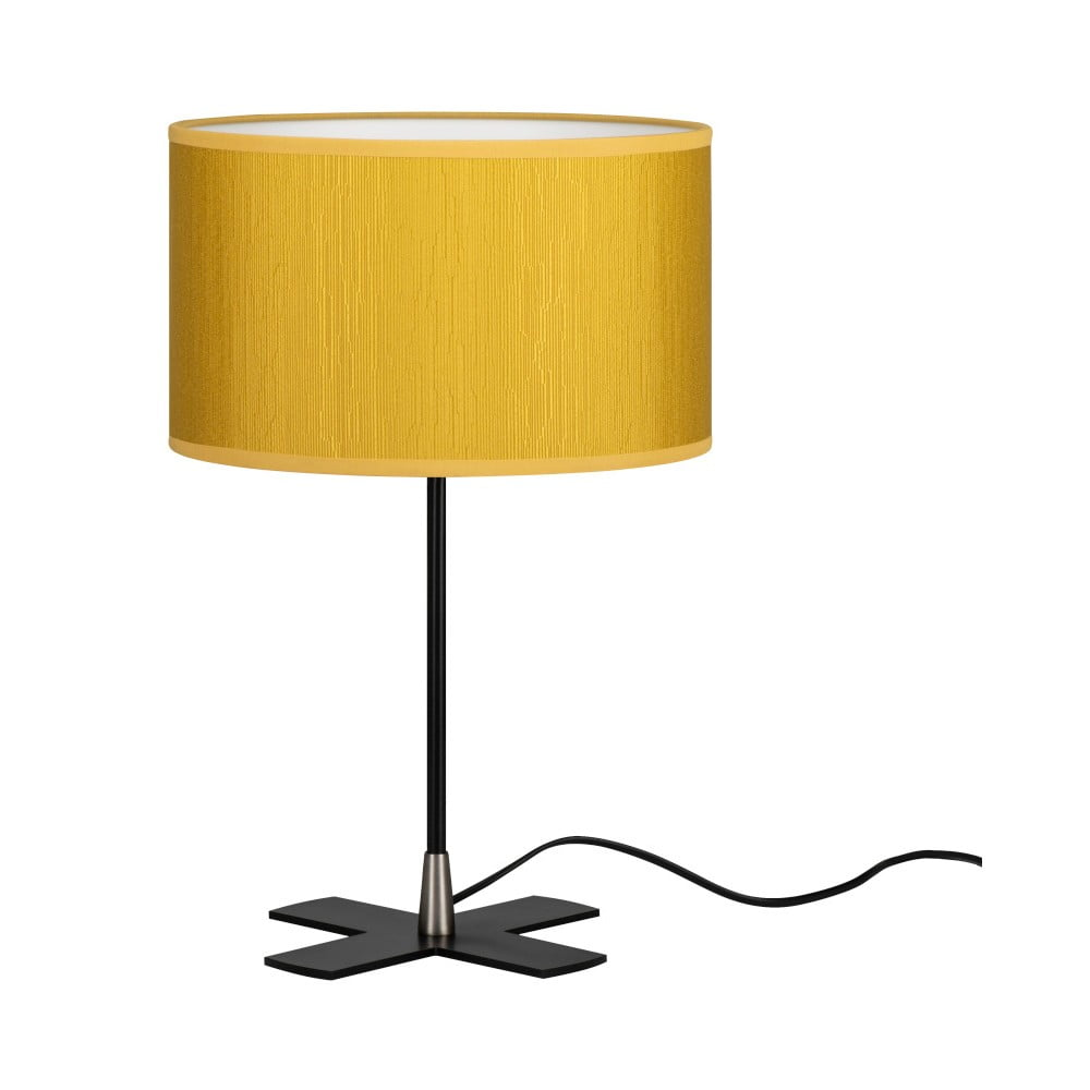 Żółta lampa stołowa Bulb Attack Doce