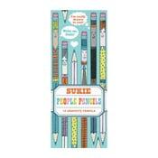 Zestaw ołówków Chronicle Books People Pencils, 10 sztuk