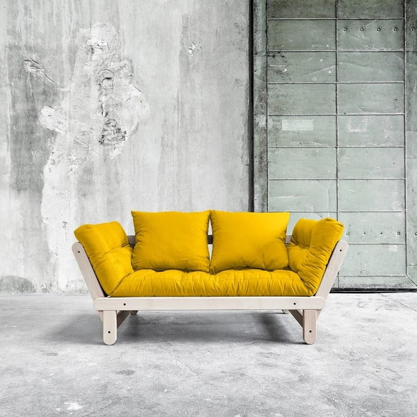 Sofa rozkładana Beat Beech/Amarillo