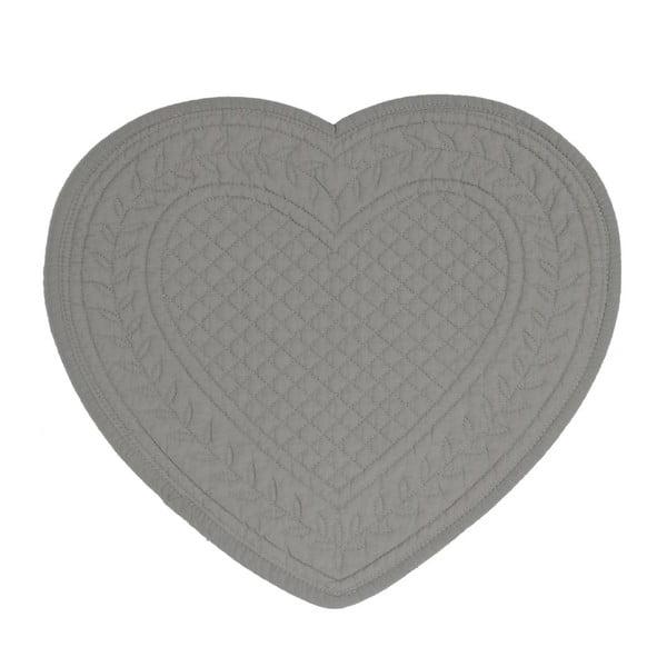 Zestaw 6 podkładek Dark Heart, 30 cm