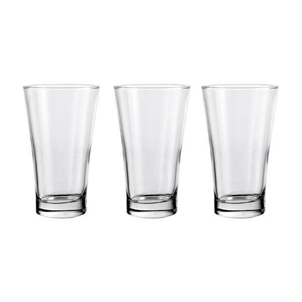 Zestaw 3 szklanek Iceland, 350 ml