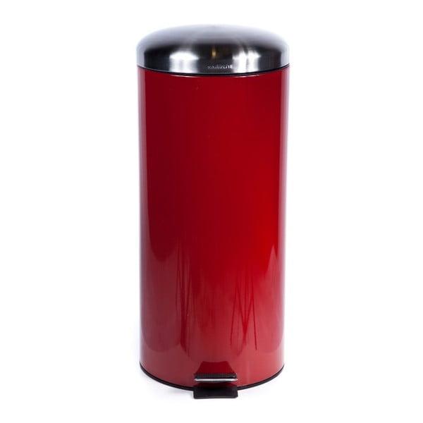 Kosz na śmieci Sabichi Pedal Red, 30 l