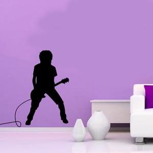 Naklejka winylowa naścienna Gitarzysta