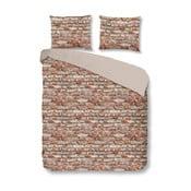 Pościel bawełniana Müller Textiel Brick, 200x200 cm