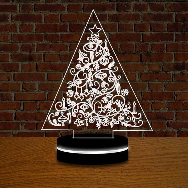 Lampa z efektem 3D Christmas no. 3