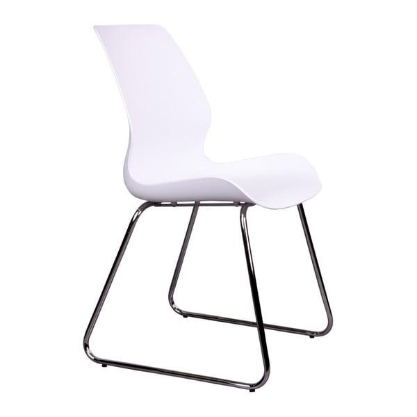 Zestaw 2 białych krzeseł House Nordic Sola