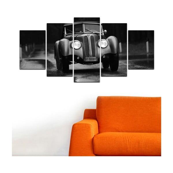 Wieloczęściowy obraz Black&White no. 46, 100x50 cm