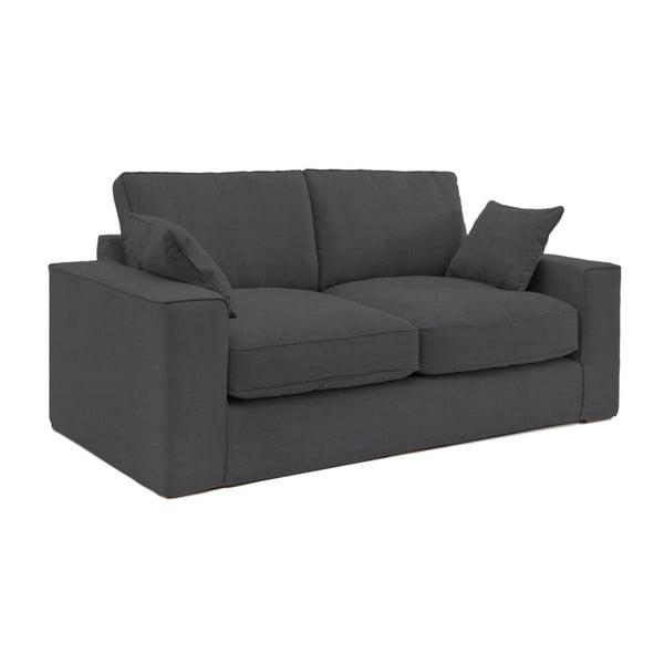 Ciemnoszara sofa trzyosobowa Vivonita Jane