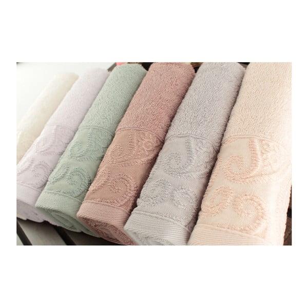 Zestaw 6 ręczników Sal, 30x50 cm