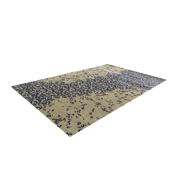 Wełniany dywan New Jersey Dark Blue, 122x183 cm