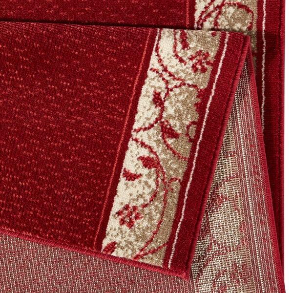 Dywan Basic Elegance, 80x350 cm, czerwony