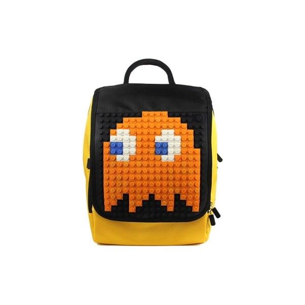 Plecak pikselowy Pixelbag, żółty/czarny