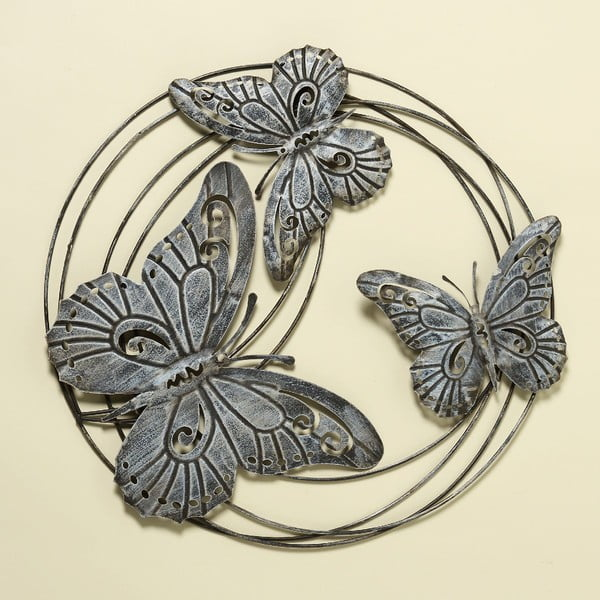 Dekoracja ścienna Butterflies, 58 cm
