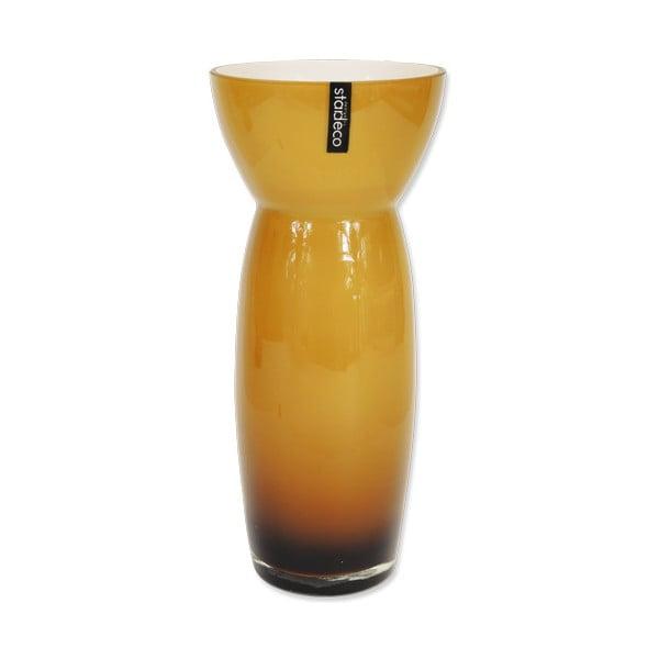 Szklany wazon Sapien, pomarańczowy