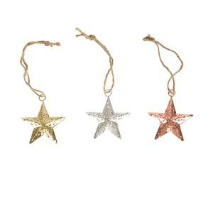 Zestaw 3 gwiazdek wiszących Sass & Belle Stars