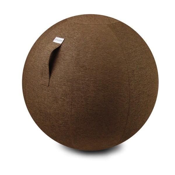 Piłka do siedzenia VLUV 65 cm, brązowa