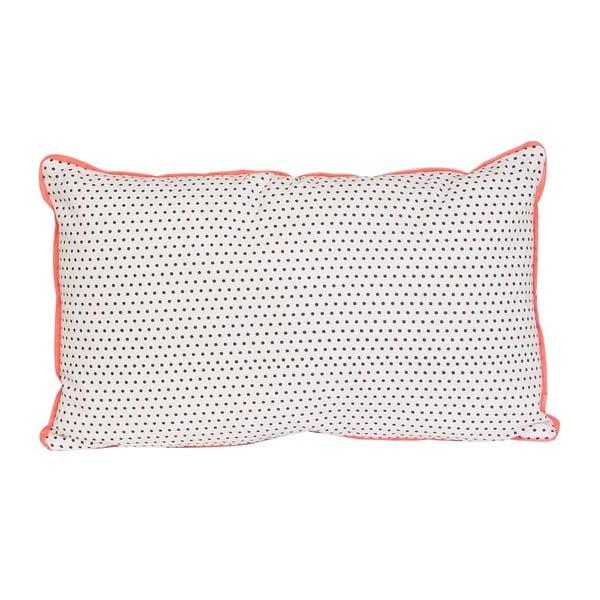Poduszka Dots Square Grey, 50x30 cm