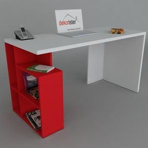 Biurko Labran Red, 60x120x73,8 cm