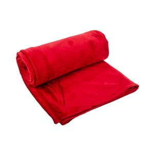 Pled Supersoft Red, 130x170 cm