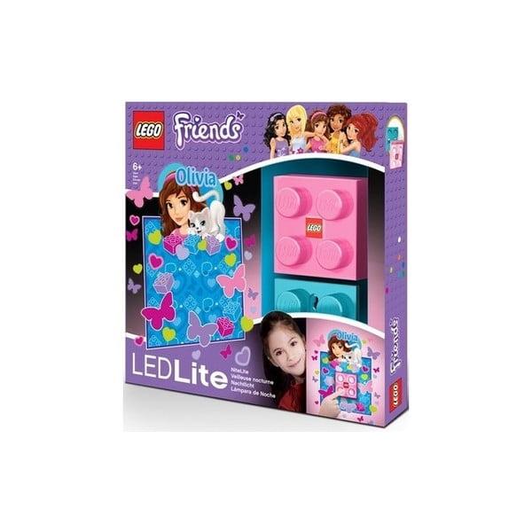 Dziecięca lampka ścienna LEGO Friends Olivia