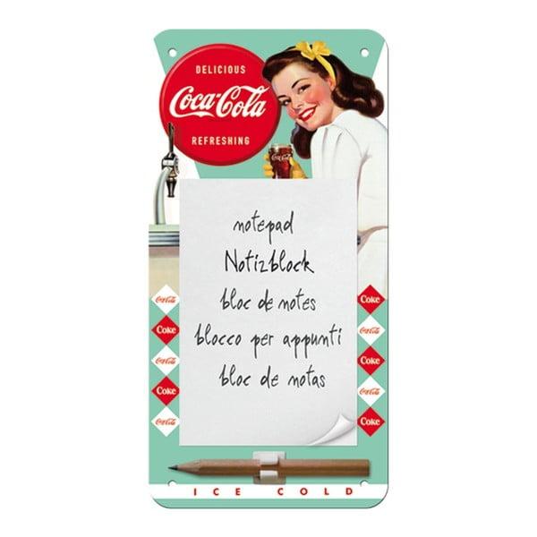 Notatnik na lodówkę/ścianę Coca Cola Woman