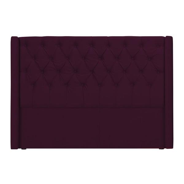 Czerwony zagłówek łóżka Windsor & Co Sofas Queen, 196x120 cm