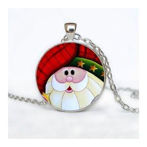 Damski łańcuszek z wisiorkiem Butoni de Camasa Happy Cartoon Santa