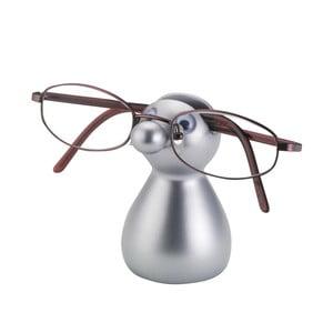Stojak na okulary Guido, srebrny
