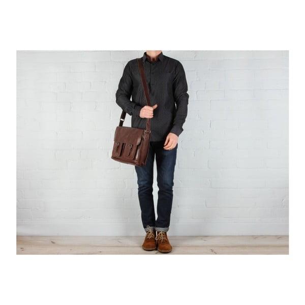 Skórzana torba Midhurst Conker Brown