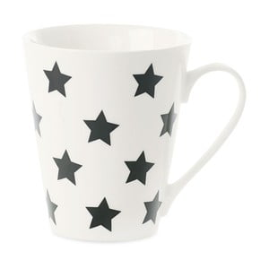 Kubek porcelanowy Coffee Black Stars