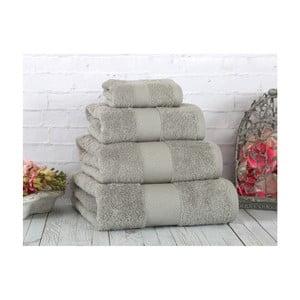Szary ręcznik Irya Home Coresoft, 30x50 cm