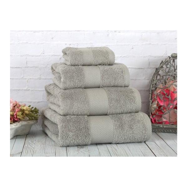 Szary ręcznik Irya Home Coresoft, 70x130 cm