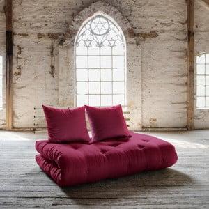 Sofa rozkładana Karup Shin Sano Natur/Bordeaux