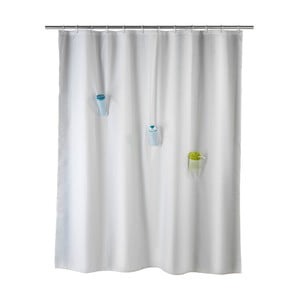 Antypleśniowa zasłona prysznicowa Wenko Villa