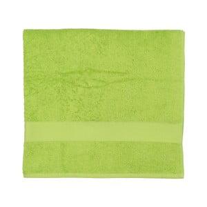 Limonkowy ręcznik frotte Walra Frottier, 90x170cm