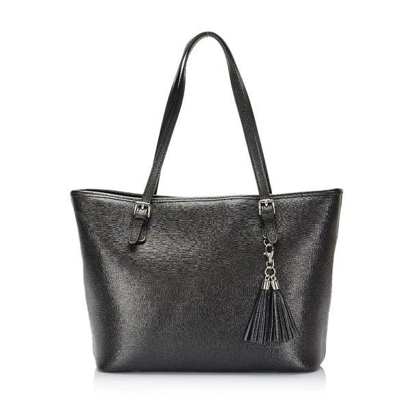 Czarna torebka skórzana Lisa Minardi Arianna