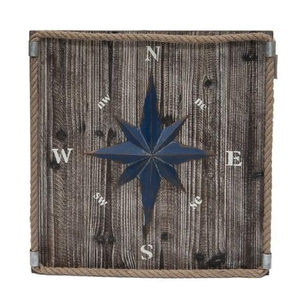 Dekoracja ścienna Kompas