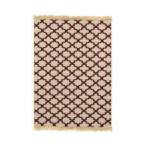 Bordowy dywan Ya Rugs Tee, 60x90cm