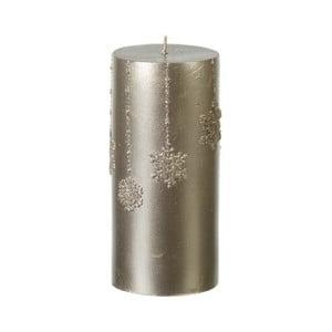 Złota świeczka ParlaneFlakes, 15 cm