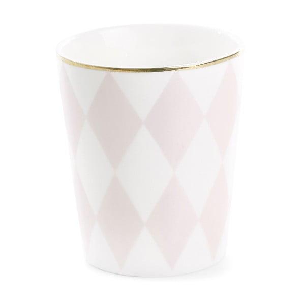 Kubek ceramiczny Rose Harlequin