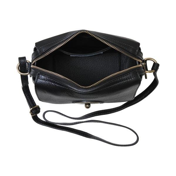 Czarna torebka skórzana Andrea Cardone Alessio