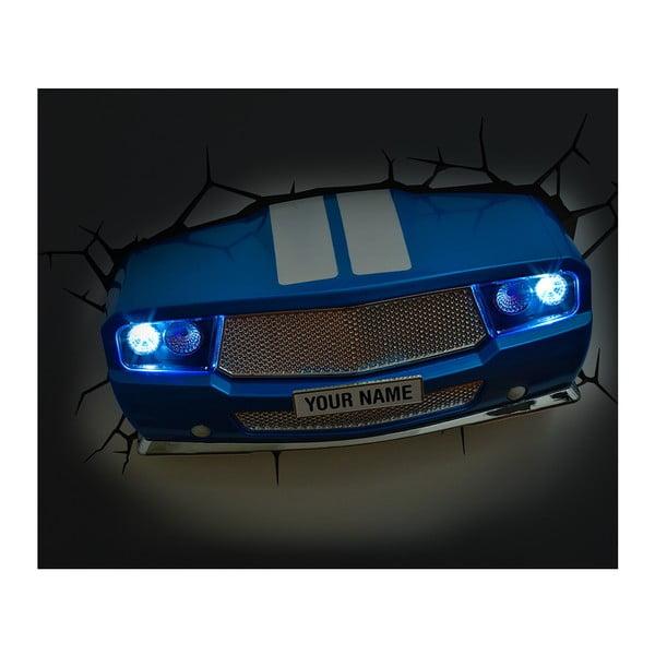 Kinkiet z naklejką Blue Muscle Car