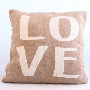Dekoracyjna poszewka na poduszkę Love, 40x40 cm