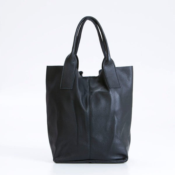 Czarna torebka skórzana Giorgio Costa Lauretta