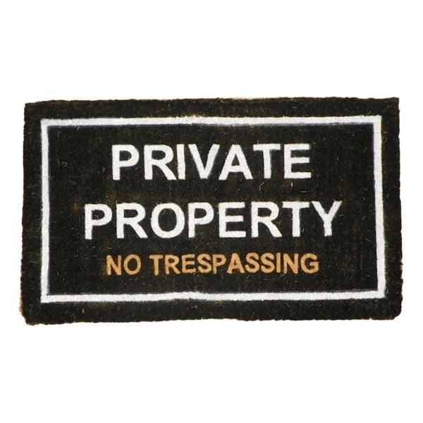 Wycieraczka Private Property, 75x45 cm
