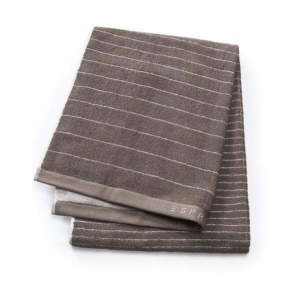Brązowy ręcznik Esprit Grade 70x140 cm