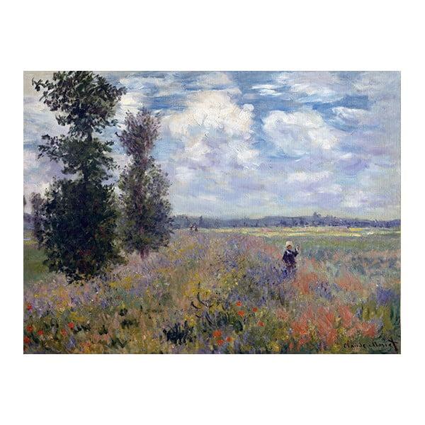 Reprodukcja obrazu Claude'a Moneta – Poppy Fields near Argenteuil, 40x30 cm