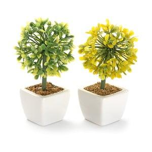 Komplet 2 sztucznych kwiatów Surtida
